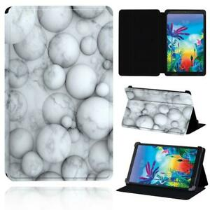 """Leather Flip Smart Stand Case cover Fit LG G Pad 8.3"""" V500 /G Pad 5 10.1 FHD+Pen"""