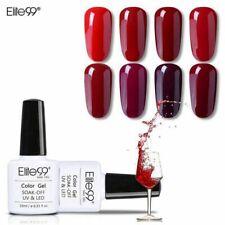 Elite99 Nail Gel Polish Wine Red Colorful Soak Off Elegant Long Lasting UV LED