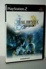 FINAL FANTASY X INTERNATIONAL USATO OTTIMO SONY PS2 ED JAP NTSC/J MC5 48353