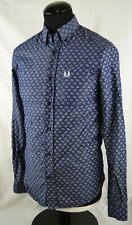 Fred Perry x Drake's Long Sleeve Button Down Paisley Print Shirt XS Archive