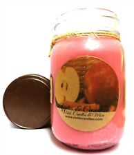 Apples and Cinnamon 16 Ounce Country Jar Handmade Soy Candle