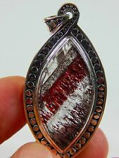"1.85"" 60 cts. TOP SUPER SEVEN MELODY STONE STERLING SILVER PENDANT JEW 220"