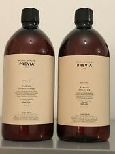 Previa Natural Haircare, Smoothing Shampoo & Conditioner, 2x1000ml, RRP £120