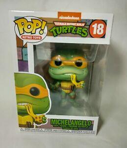 Michelangelo Funko pop! Retro Toys Teenage Mutant Ninja Turtles Vinyl Figure