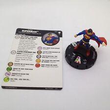 Heroclix DC Elseworlds set Superman #027 Rare figure w/card!