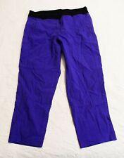 Lane Bryant Women's Sexy Stretch Straight Leg Pants SV3 Blue Size 18