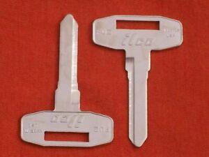 2- FU2 ilco MITSUBISHI FUSO KEY BLANKS 1989 190 1991 1992 1993 1994 1995 1996 🔑