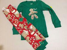 nwt gymboree christmas boys girls gymmies gingerbread pajamas holiday oh snap