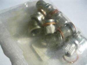 10x KS TOOLS Gewindeeinsatz Ersatzbuchse mit Kupferring IG M9x1,25 Pressgewinde