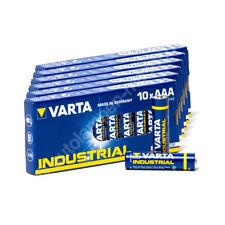 60x Micro AAA / LR3 - Batterie Alkaline, Varta Industrial 4003, 1,5V, 1200mAh, 1