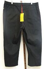 Ruby Rd. Womens Ladies Black Cropped Dress Pants Size 16