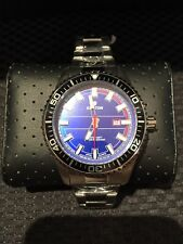 """Croton Men""""s Blue Dial Stainless Steel Watch awesome!"""