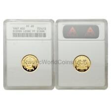 Sierra Leone 1997 Diana $50 Gold ANACS PF68 SKU#6306