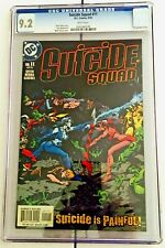SUICIDE SQUAD #11 CGC 9.2 (NM-) 2002 - First Print  - White Pages