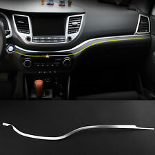 Car Center Console Interior Steel Dashboard Trim Cover For Hyundai Tucson 2016