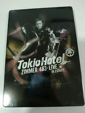 Tokio Hotel Zimmer 483 Live in Europe - CD + 2 x DVD Steelbook 2010 - AM