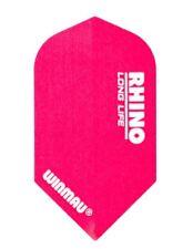 Winmau Rhino Extra Thick Dartflights Slim Pink 3er Set