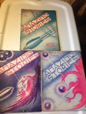 AMAZING STORIES SF CLASSIC PULP ART DECO 1933 SPACESHIPS & DRAGONS! FRAME EM!