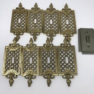 Brass Toggle Switch Electrical Wall Plates For Sale In Stock Ebay