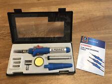 Ferrex butane gas soldering iron kit