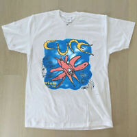 vtg 1992 The Cure Wish Tour T Shirt VTG 90s Band Tee Robert Smith