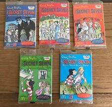 The Secret Seven Mcdonalds Happy Meal Books x5 bnip