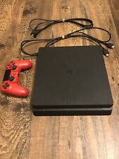 Sony Playstation 4 PS4 500 GB Slim - Black Console With Controller