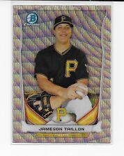 Jameson Taillon 2014 Bowman Chrome RC Silver Wave Refractor #/25 CTP-5 Pirates