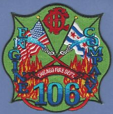 CHICAGO FIRE DEPARTMENT ENGINE COMPANY 106 FIRE PATCH