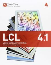 (16).LENGUA CASTELLANA 4ºESO *TRIMESTRAL* (AULA 3D). ENVÍO URGENTE (ESPAÑA)
