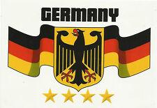 Deutschland Flagge Fahne Banner Sticker Auto-Aufkleber Fußball Germany WM EM