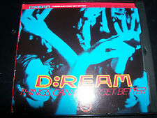 D:Ream / Dream Things Can Only Get Better US Remixes Maxi CD Single