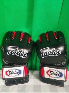 NEW Fairtex MMA Ultimate Combat Gloves - Black Blue Red White Never Worn - UFC