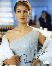 ROSAMUND PIKE Hand Signed JSA COA JAMES BOND 8X10 Photo Autographed Authentic