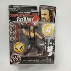 Undertaker WWE Build n Brawl Wrestling Figure - Series 1 Jakks Pacific w Ring