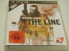 !!! PLAYSTATION PS3 SPIEL Spec Ops the Line USK18 GUT !!!