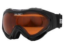 Les adultes Bloc Hawk Ski Snowboard Lunettes CAT 2 Golden Eye Lentille RRP £ 33.50