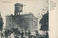 SAN FRANCISCO CA-Hall of Justice Destroyed by 1906 Earthquake and Fire - udb