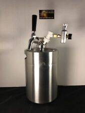 5L Mini Keg With Spear Tap And 60 Psi Co2 Charger