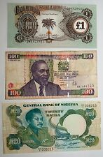 Lot 3 billets Nigeria