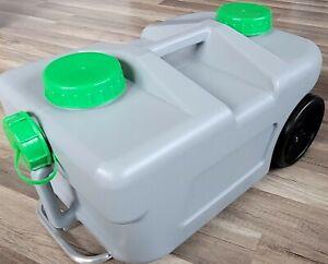 Abwassertank, 25Liter, fahrbarer Wassertank, Wassertaxi, mit Verschluss #61/100