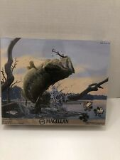 """Magellan Outdoors Bragging Rights Jigsaw Puzzle 550 PC 24""""W x 18""""H SEAL NEW"""