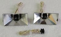 Réflecteurs/éclairages complet lecteur de cassette DUAL C-810.Pièce détachée .