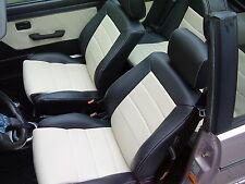 Sitzbezüge Schonbezüge Lederbezüge nach Mass Golf 1 3 4 Cabrio + Audi 80 Cabrio