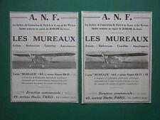 3/33 PUB ANF LES MUREAUX NORD AVION 110-R.2 AIRCRAFT AERONAUTIQUE MILITAIRE AD
