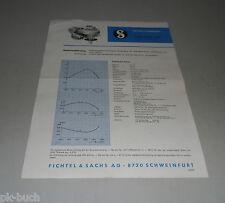Typenblatt / Technische Daten Sachs-Stamo 76 RM Spezialmotor für Rasenmäher