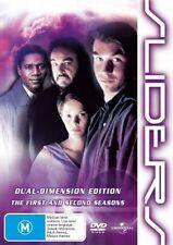 Sliders : Season 1-2 (DVD, 2007, 6-Disc Set)