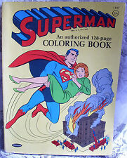Superman Coloring Book, 1964! Whitman, Animation Super Hero