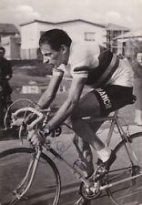 Cartolina con autografo di Fausto Coppi, non viaggiata