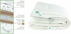 Energy Comforter Tourmaline Fiber Duvet Cotton 300 TC with Magnets HealthyLine